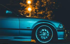 Картинка bmw, e36, nightlight, bmwe36, 318is