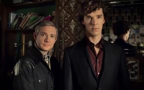 Картинка Шерлок Холмс, Sherlock, Sherlock BBC, Sherlock Holmes, Джон Ватсон, Sherlock (сериал)