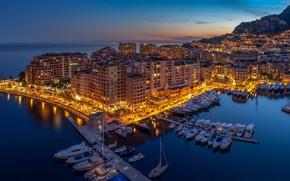 Картинка дома, гавань, Монако, Монте-Kарло