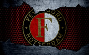 Картинка wallpaper, sport, logo, football, Feyenoord
