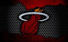 Картинка wallpaper, sport, logo, basketball, NBA, Miami Heat