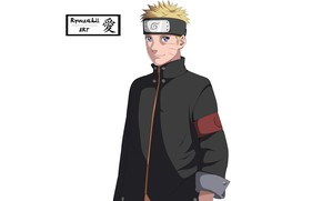 Картинка белый фон, Наруто, Naruto, Узумаки Наруто