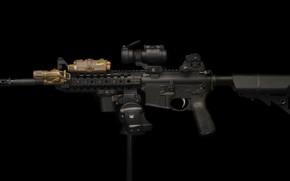 Картинка оружие, оптика, карабин, штурмовая винтовка
