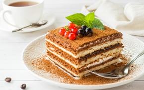 Картинка ягоды, сладость, торт, выпечка