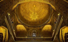 Картинка мечеть, купол, Узбекистан, Самарканд