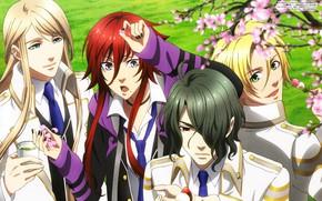 Картинка аниме, арт, парни, Kamigami no Asobi, Игры богов