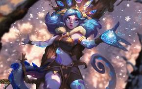 Картинка магия, фея, League of Legends, Лига Легенд