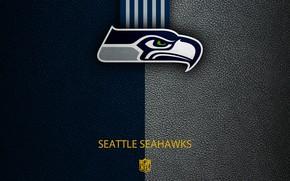 Картинка wallpaper, sport, logo, NFL, Seattle Seahawks