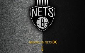 Картинка wallpaper, sport, logo, basketball, NBA, Brooklyn Nets