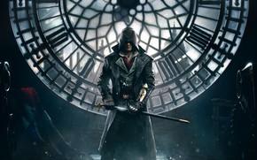 Картинка Лондон, Парень, Assassins Creed, Капюшон, Убийца, Синдикат, Syndicate, Assassin's Creed: Syndicate, Джейкоб Фрай, Jacob Frye