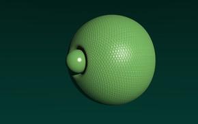 Картинка abstraction, sphere, primitive, scifi, blender3d, 3dart, blenderrender