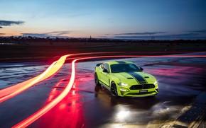 Картинка Mustang, Ford, вечер, AU-spec, R-Spec, 2019, Australia version