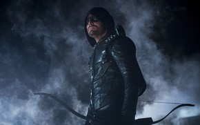 Картинка Green Arrow, Arrow, Stephen Amell, Oliver Queen, The CW