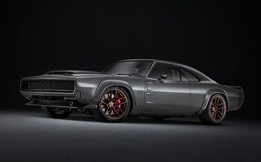 Картинка Concept, Dodge, Charger, 1968, Super Charger, SEMA 2018
