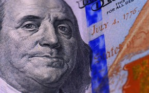 Картинка Деньги, Бенджамин Франклин, Benjamin Franklin, Dollar, Доллар, 100, Купюра