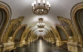 Картинка город, метро, интерьер