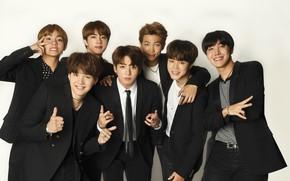 Картинка парни, костюмы, корея, BTS, корейская группа, БТС, бойбенд, Чонгук, Мин Юнги, Ким Тхэ Хён, Чон …