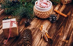 Картинка украшения, Новый Год, Рождество, кружка, Christmas, cup, New Year, decoration, xmas, Merry, hot chocolate, marshmallow, ...
