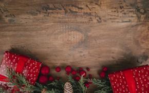 Картинка шары, Новый Год, Рождество, подарки, Christmas, balls, wood, New Year, decoration, gifts, Merry, fir tree, ...