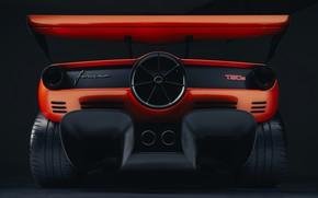 Картинка купе, крыло, V12, корма, GMA, Gordon Murray Automotive, T.50s Niki Lauda