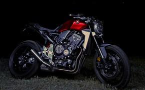 Картинка чёрный, Honda, 2018, CB1000R
