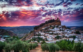 Картинка Spain, Andalusia, Montefrío