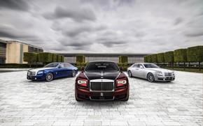 Картинка облака, Rolls-Royce, Ghost, 2019