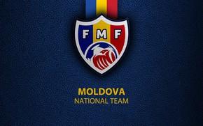 Картинка wallpaper, sport, logo, football, Moldova, National team