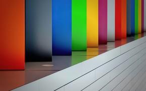 Картинка цвета, свет, отражение, панели