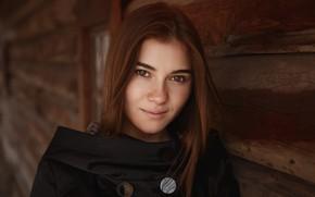 Картинка улыбка, Катя, прелесть, кареглазая, Кривонос Вячеслав
