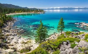 Картинка Калифорния, Lake Tahoe, озеро Тахо