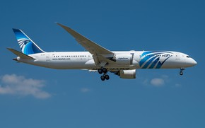 Картинка Boeing, Dreamliner, 787-9, Egypt Air