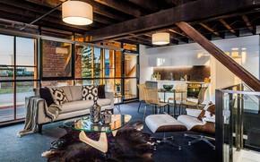 Картинка дизайн, стиль, интерьер, кухня, гостиная, столовая, spectacular industrial design, that will inspire you, это вдохновит …