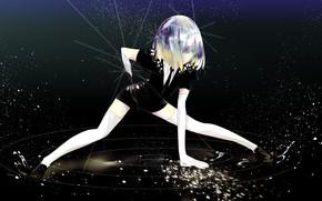 Картинка девушка, космос, рана, Houseki no Kuni, Страна Самоцветов