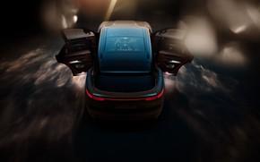 Картинка Porsche, вид сверху, Turbo, 2018, Cayenne, TechArt