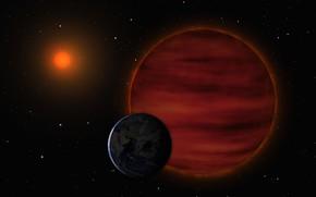 Картинка Планета, Космос, Приближение, Нибиру, Планета X
