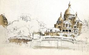 Картинка Paris, Ile-de-France, Montmartre