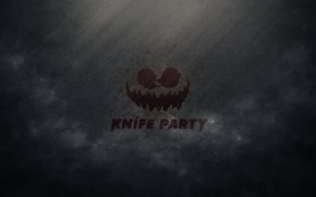Картинка Музыка, Улыбка, Лого, Фон, Knife Party, Knife, Big Beat, Робом Свайром, EarStorm, Gareth McGrillen, Свайром, …