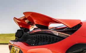 Картинка McLaren, крыло, корма, 2020, 765LT