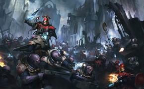 Картинка генокрады, Warhammer 40 000, forge world, Adeptus Mechanicus, скитарии