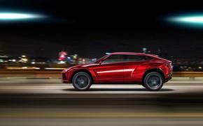 Картинка Concept, скорость, Lamborghini, кроссовер, Urus