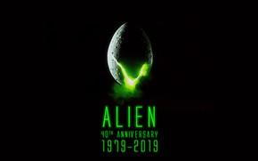 Картинка Alien, 40th Anniversary, sci fi fiction