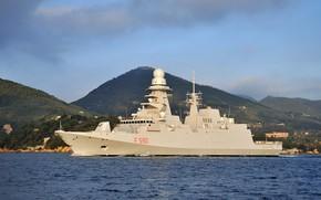 Картинка Фрегат типа FREMM, Carlo Bergamini (F 590), FREMM, ВМС Италии