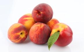 Картинка фрукты, персики, лакомство