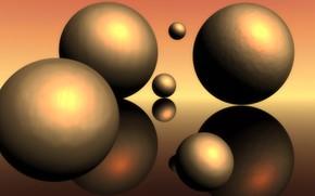 Картинка фон, шары, мячики