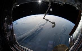 Картинка облака, Земля, МКС