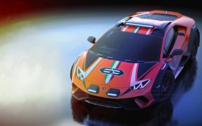 Картинка машина, Lamborghini, concept, Huracan, Sterrato
