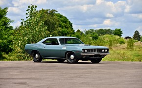 Картинка Classic, Muscle car, Hemi, Plymouth Cuda