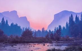 Картинка пейзаж, горы, озеро, восход, утро, mountains, morning, by Pyrus-acerba