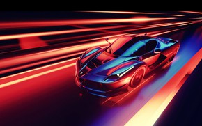 Картинка Car, Speed, Abstraction